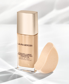 bottle of laura mercier flawless lumière foundation